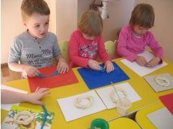 Дети лепят из соленого теста картинки 2