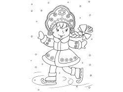 Картинки раскраски для детей чёрно белые распечатать аватар 3