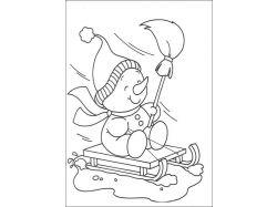Картинки раскраски для детей чёрно белые распечатать аватар 4