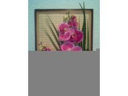 Поделки из искусственных цветов фото 1