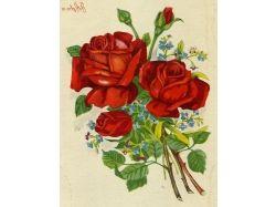 Анимационные открытки 8 марта цветы 1