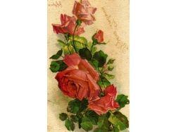 Анимационные открытки 8 марта цветы 2