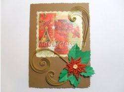 Рождественская открытка своими руками фото 3