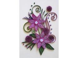 Цветы на открытки своими руками 2