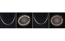 Образцы плетения золотых цепочек фото 1