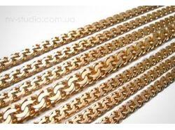 Образцы плетения золотых цепочек фото 6