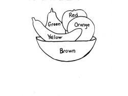 Картинка овощи в карзине для детей натюрморт 1