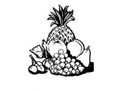 Картинка овощи в карзине для детей натюрморт 6