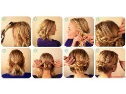 Картинки красивые косички на густые волосы