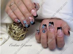 Зима рисунки на ногтях