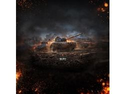 Заставка на компьютер world of tanks