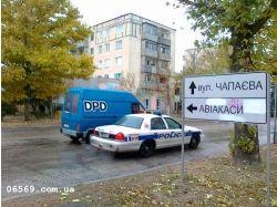 Полицейская машина фото