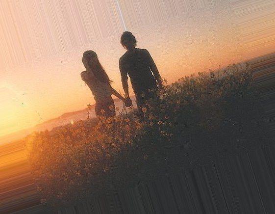 Скачать картинки парень и девушка держатся за руки