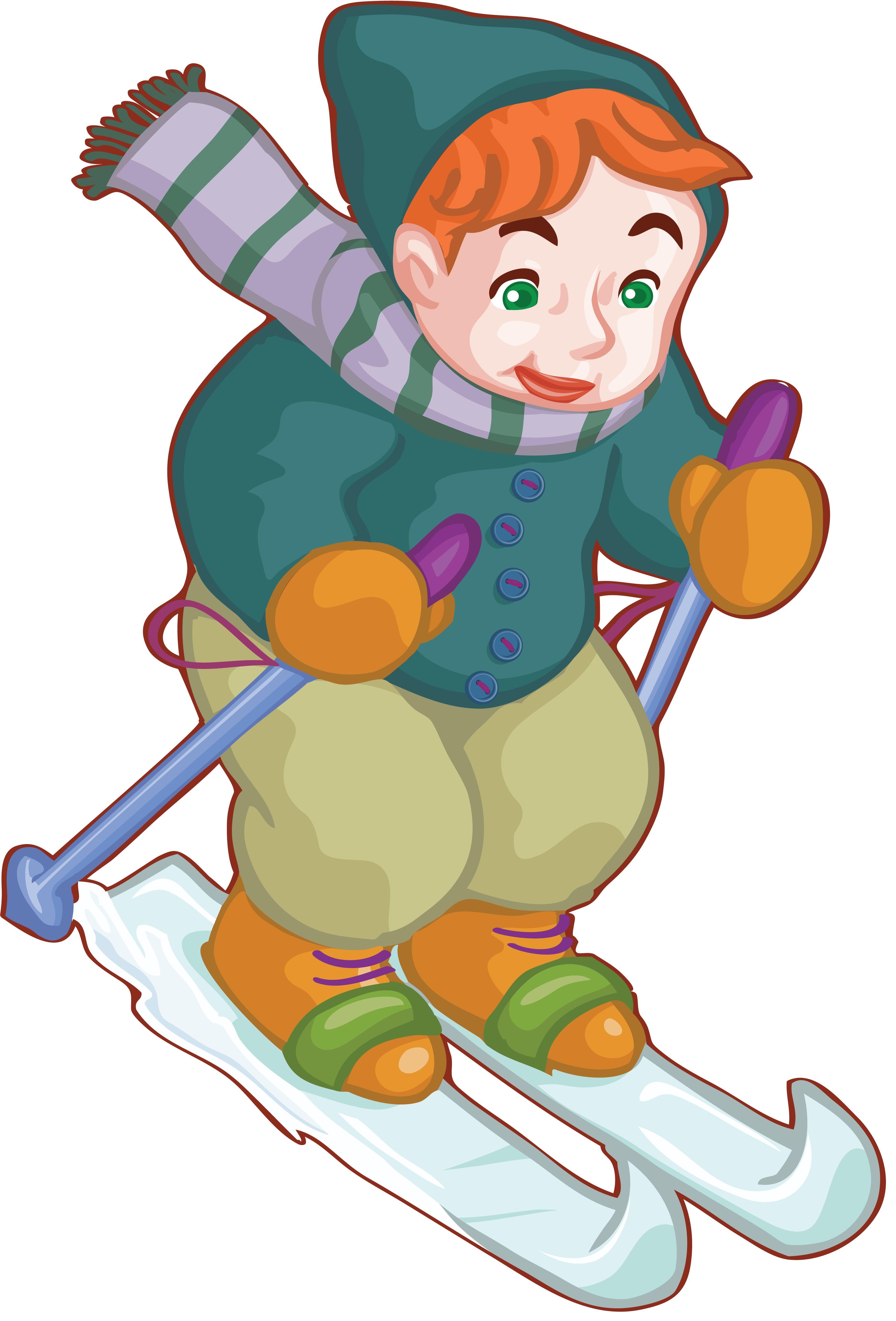 Лыжница картинки для детей, совершеннолетием сына