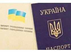 Украинский паспорт фото