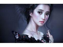 Абстрактные картинки девушек