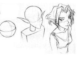 Саске рисунки карандашом