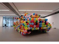 Танк из воздушных шаров 1