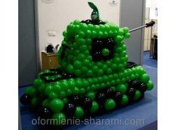 Танк из воздушных шаров 4