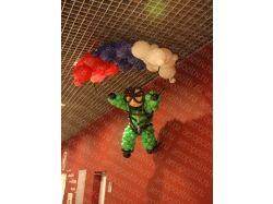 Танк из воздушных шаров 7