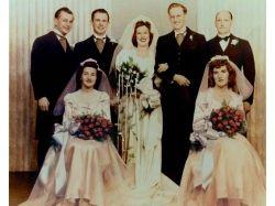 Старые фото свадьбы