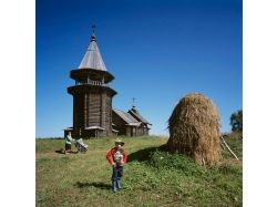 Деревянные храмы россии фото
