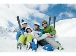Семейные фото зимой