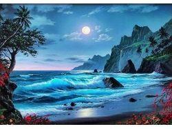 Рисунок моря