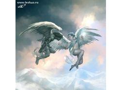 Картинки демонов и ангелов
