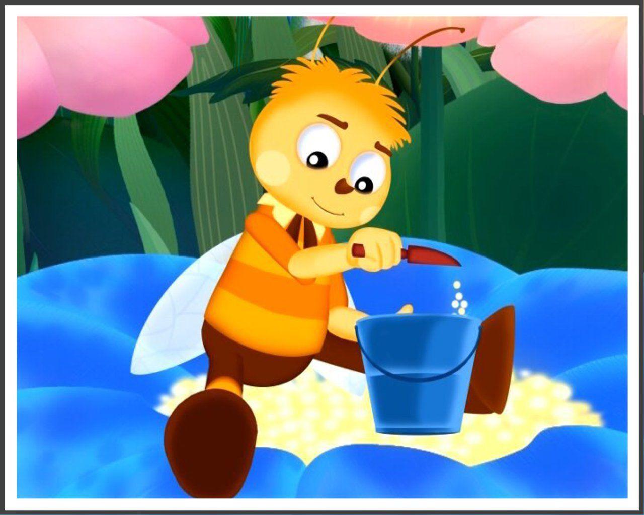 Картинка пчеленка для детей