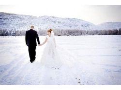 Свадебные фото зима