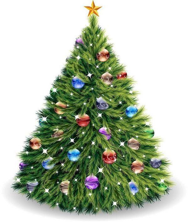 Картинки анимация новогодние елки