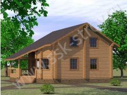 Проект деревянного дома охотничья романтика 6