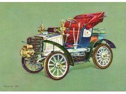 Ретро автомобили картинки