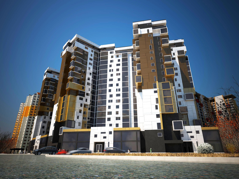 Картинки многоэтажные жилые домашних