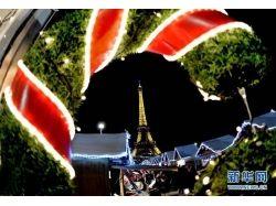 Рождество в париже фото