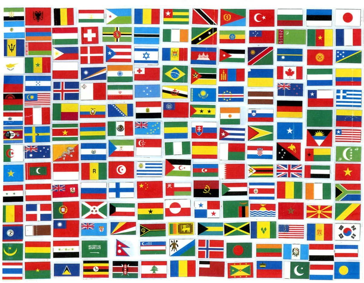flags of the world Find out what defines a country and what attributes of an independent state emphasize its individuality and are widely used in real life.