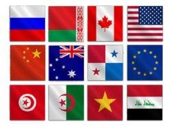 Фото флаги мира