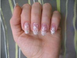 Рисунки на ногтях зима