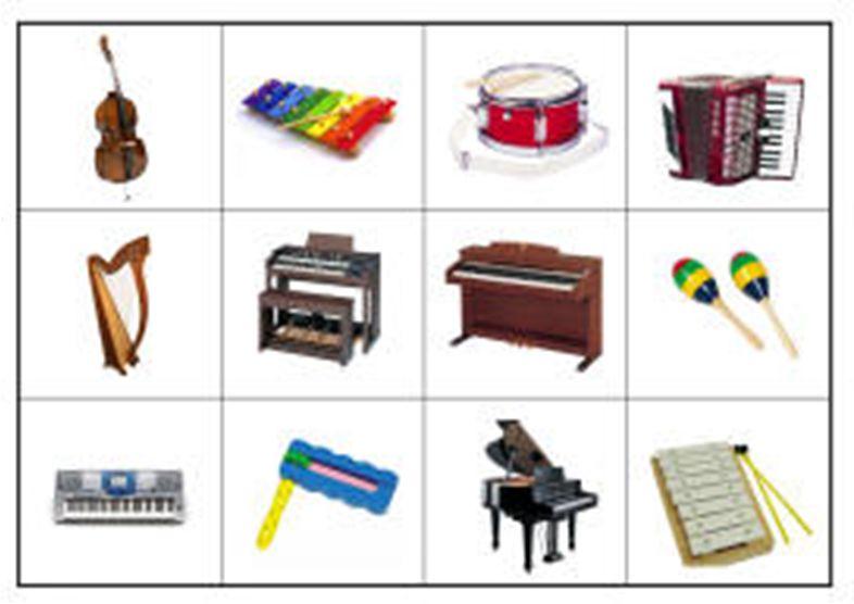 Музыкальные инструменты для детского сада картинки 13