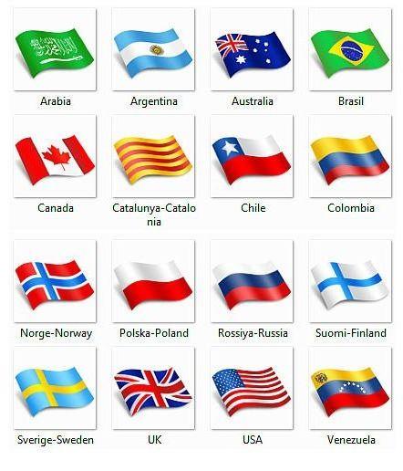 Флаги стран европы - Google Флаг, География мира