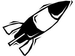 Ракета рисунок