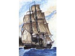 Рисунки парусных кораблей