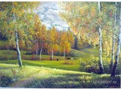 Красивые картины осени