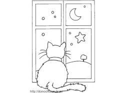 Новогодние картинки на окна