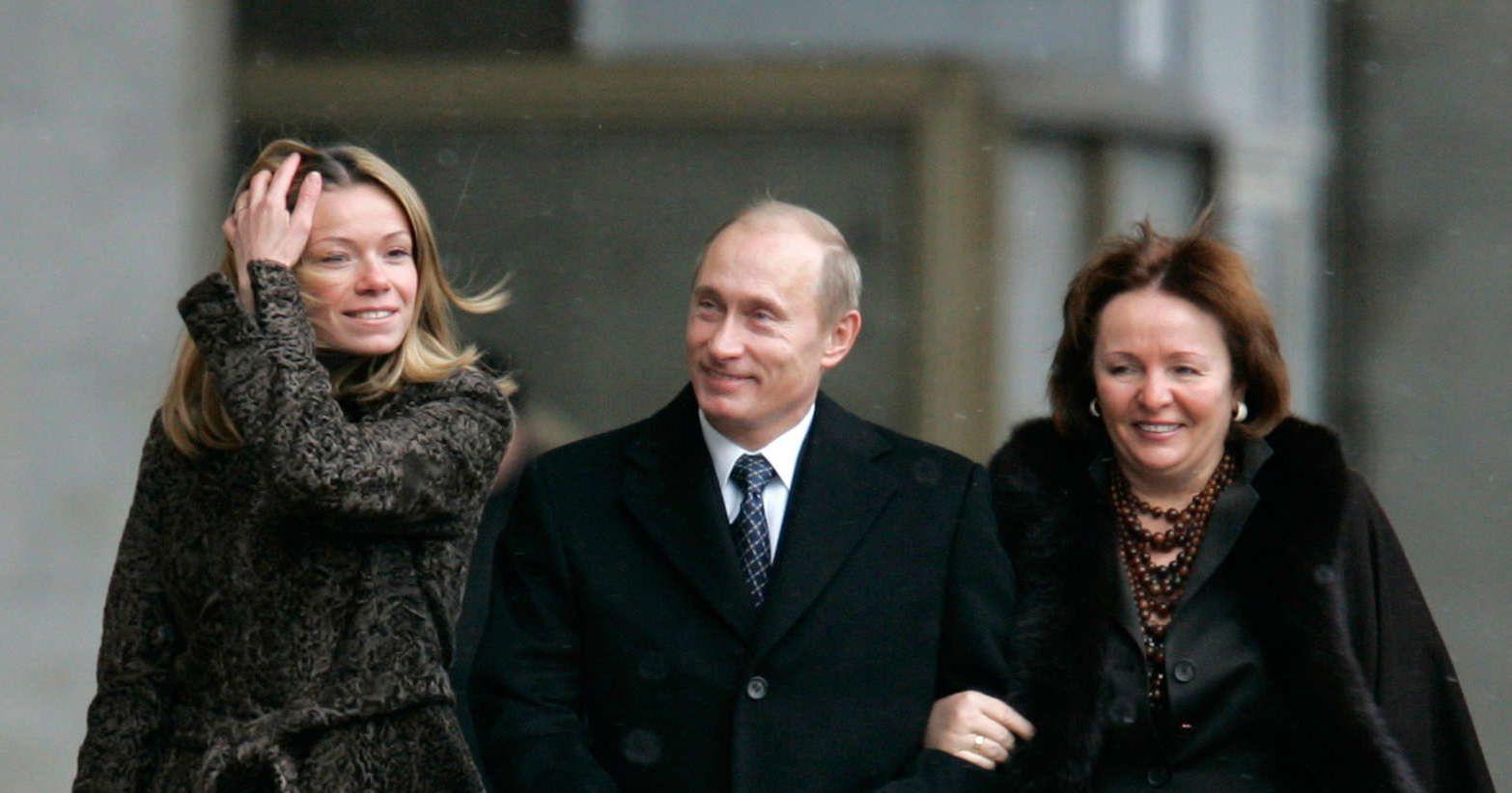 Семейный альбом Путина В.В. (58 фото)