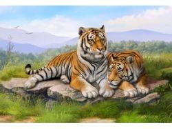 Картинки тигры на рабочий стол