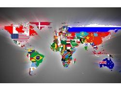 Карта мира картинка на рабочий стол