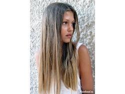 Натуральный русый цвет волос фото