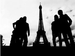 Картинки девушек в париже